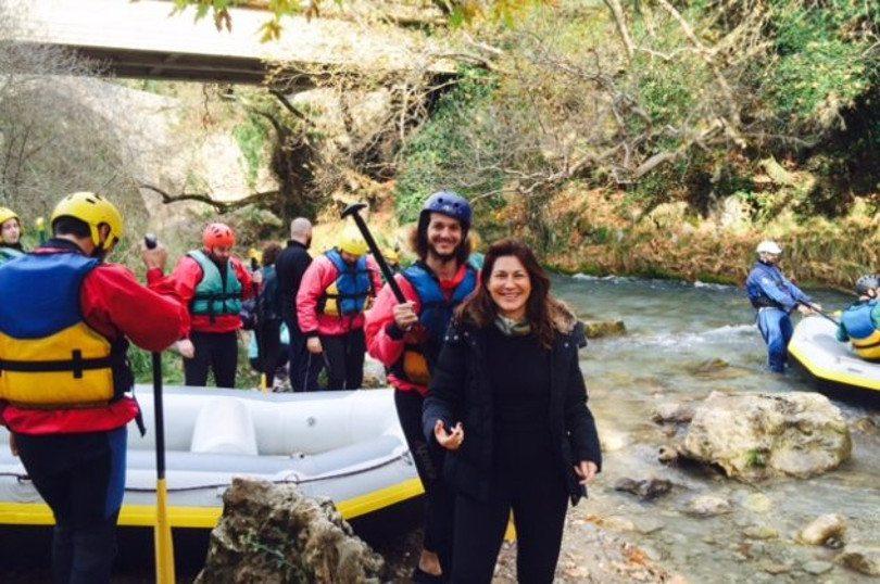 Rafting Λούσιος ποταμός