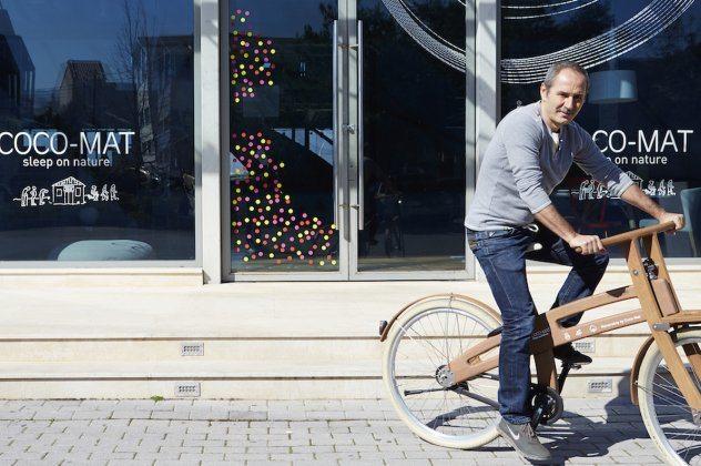 Ο Mr Cocomat – Paul Ευμορφίδης έφτιαξε και παρουσιάζει ένα 100% ελληνικό ποδήλατο!