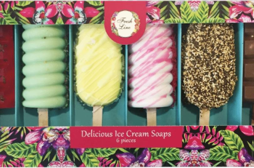 Made In Greece: Τα σαπούνια «παγωτά» της Fresh Line – Άρωμα καρπούζι, πεπόνι, σοκολάτα