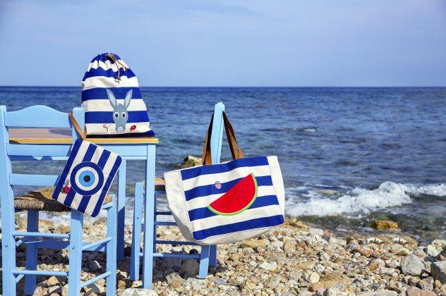 Made In Greece τα AtoZGreek: Κομψά, αυθεντικά και χαριτωμένα Summer Accessories με άρωμα Ελλάδας!