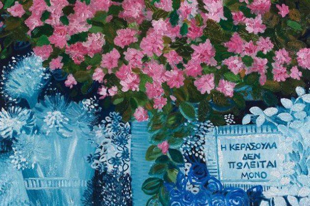 Η Βάσω Τρίγκα από δικηγόρος έγινε ζωγράφος & μαγεύει με χρώματα βυθού και φύσης