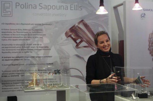 «A Jewel Made In Greece»: Η Πολίνα Σαπουνά Έλλις και τα εκπληκτικά κοσμήματα-γλυπτά που δημιουργεί