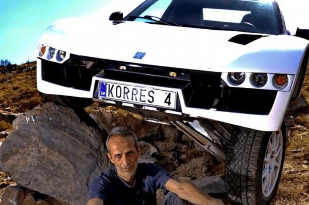 Made In Greece: Ο Ναξιώτης Δημήτρης Κορρές κατασκεύασε το απόλυτο αυτοκίνητο παντός εδάφους