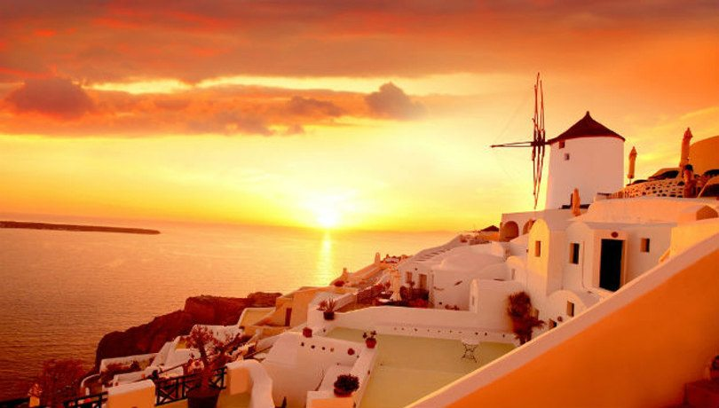 Σαντορίνη, το ομορφότερο ηλιοβασίλεμα στο Αιγαίο