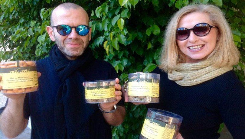 Made In Greece τα EatCrete: Ο Φ. Εξαδάκτυλος «απογείωσε» την γεύση της Gourmet Κρητικής παράδοσης με τόση «κουζουλάδα» που τα Cookies του γίνονται ανάρπαστα!