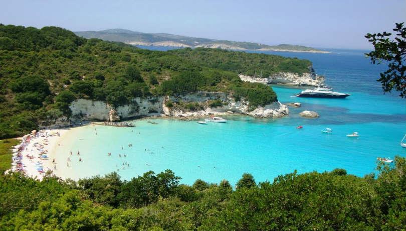 Το Βουτούμι των Παξών ανάμεσα στις 10 καλύτερες παραλίες της Ευρώπης