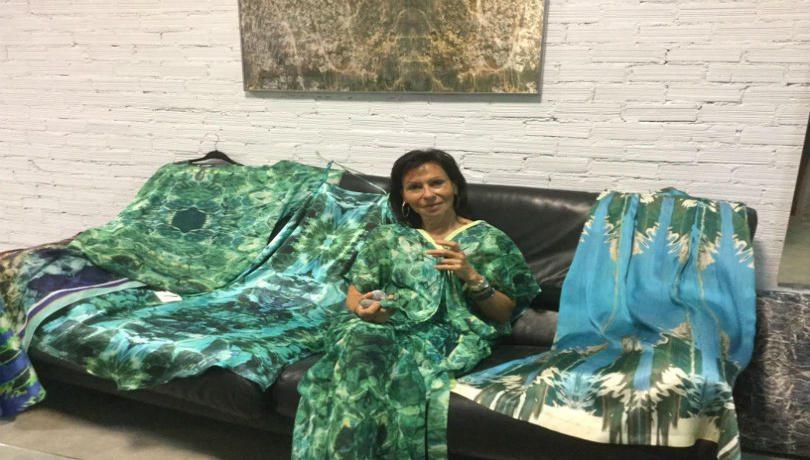 Sea Through: Ο βυθός & τα χρώματα της θάλασσας από την Ντόρα Καλλιτσάντση στην πιο εντυπωσιακή συλλογή καλοκαιρινών ρούχων