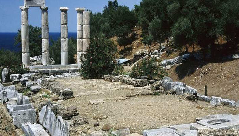 Samothrace Island Thrace Greece708