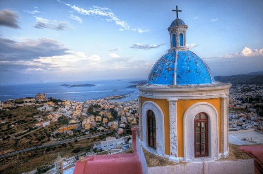 Η ελληνική παράδοση συναντά την αρχοντιά στην πρωτεύουσα των Κυκλάδων – Φωτογραφία ημέρας: VisitGreece.gr / Instagram