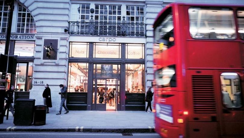 Το κατάστημα Carpo στην Piccadilly street στο Λονδίνο, το οποίο άνοιξε τον Φεβρουάριο 2013