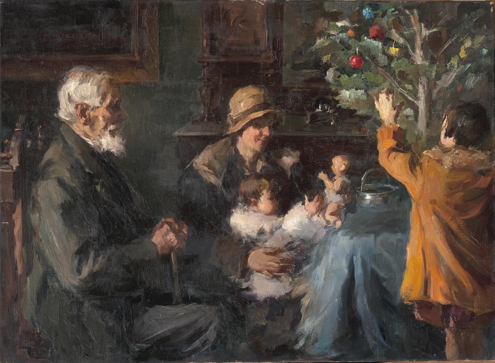 Η περίοδος των γιορτών στους καμβάδες των μεγάλων Ελλήνων ζωγράφων (ΦΩΤΟ)
