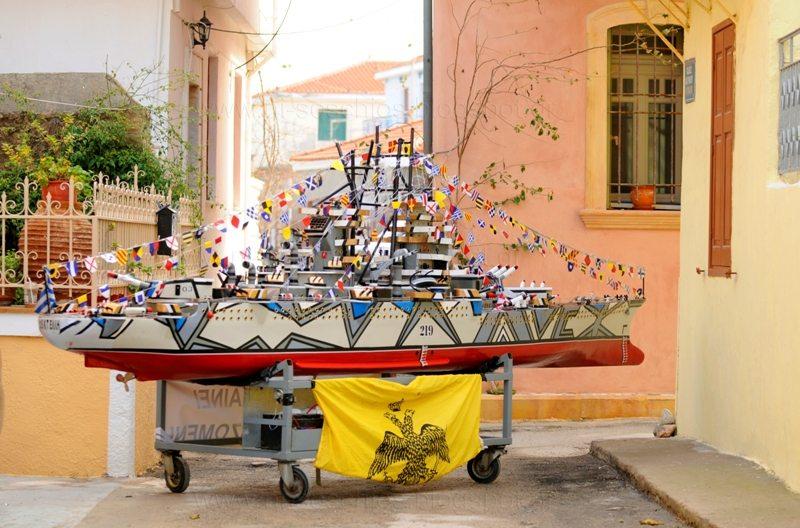 Τα πρωτοχρονιάτικα παινέματα και τα πρωτοχρονιάτικα καραβάκια της Χίου (ΒΙΝΤΕΟ- ΦΩΤΟ)