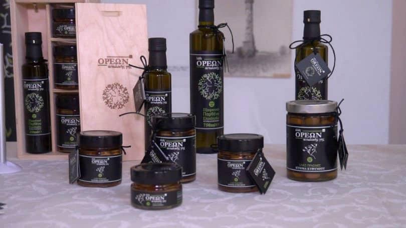 Made In Greece τα προϊόντα της «ΟΡΕΩΝ Αιτωλικής Γης» από το Κτήμα Ευθυμίου: Εξαιρετικής ποιότητας ελιές & «Θεϊκό λάδι» Αγρινίου