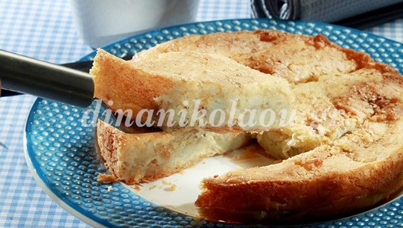 Αγκιναρόπιτα με κρέμα και φύλλο ιδιαίτερο από την μοναδική Ντίνα Νικολάου