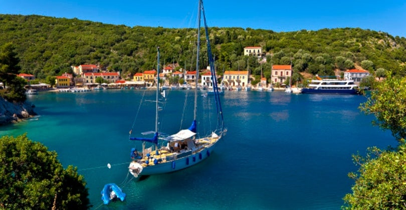 Greece. Ionian Islands - Ithaca. Lovely Settlement Of Frikes