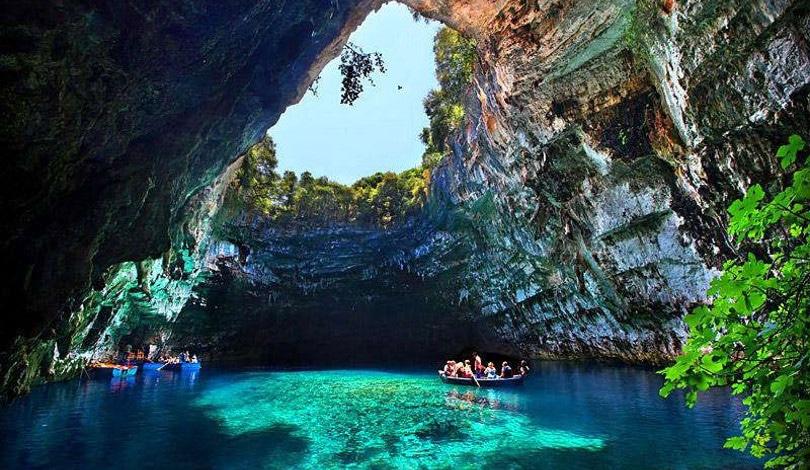 Melissani Cave Kefalonia Island Greece 2