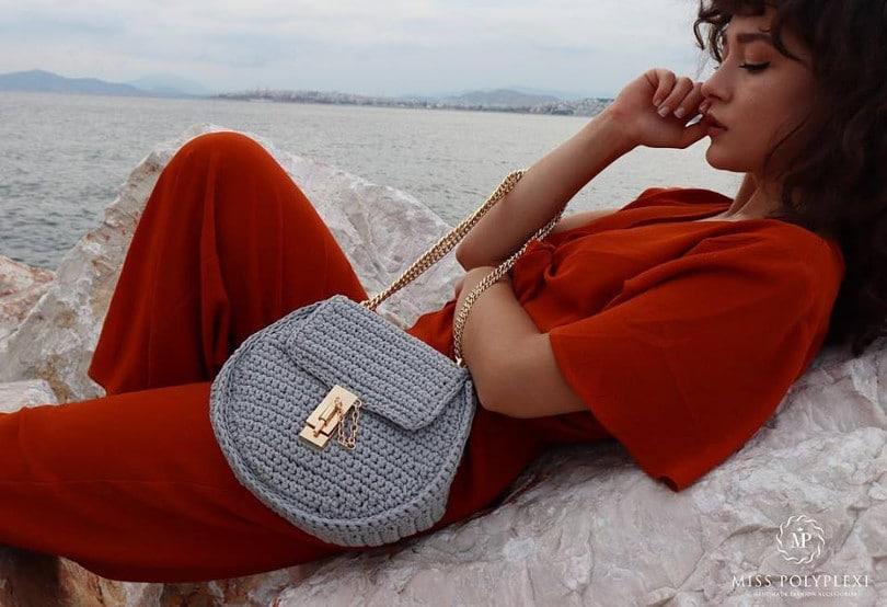 Μade in Greece οι τσάντες Miss Polyplexi  Φτιαγμένες στο χέρι 7294a8ccc06