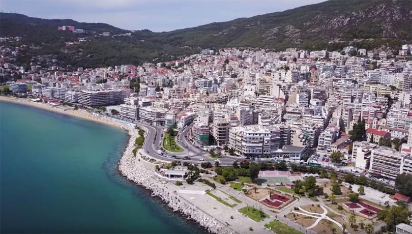 Drone Aerial Uav Greece Kavala 1200×663