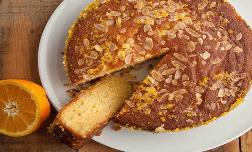 Siropiasto Cake Esperidoeidi