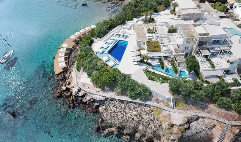 Aria Hotels The Island Concept, Agios Nikolaos, Crete CENTRAL PHOTO