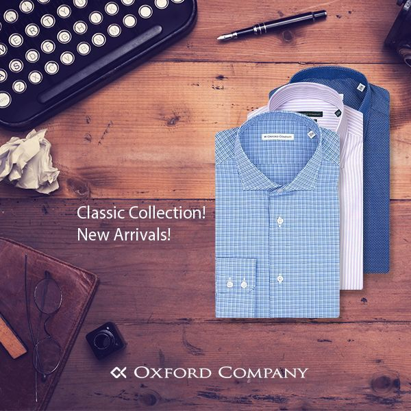 696c15a08465 Made in Greece τα ρούχα της Oxford Company   ο Γιώργος Τσιόλιας  Από ...