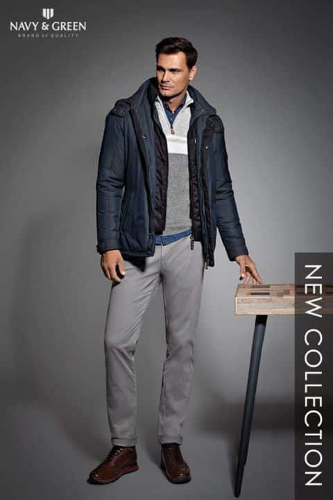 0f90a726cf0 ... αλλά και κομψά κοστούμια, καλοραμμένα σακάκια και πλεκτά υψηλής  ποιότητας για τις πιο επίσημες εμφανίσεις είναι μερικές μόνο από τις  προτάσεις της Navy ...