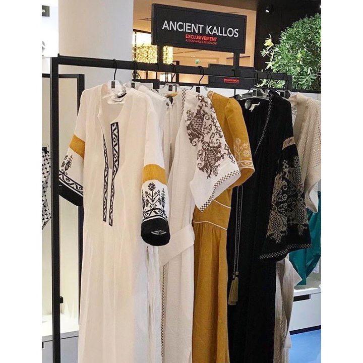 6c111423d07 Made in Greece τα φανταστικά resort ρούχα Ancient Kallos: Η Λαμπρινή ...