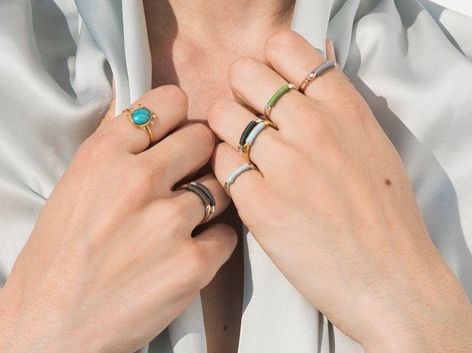 9e0f4b9838ba Made in Greece τα κοσμήματα Danai Giannelli  Διαχρονική απλότητα ...