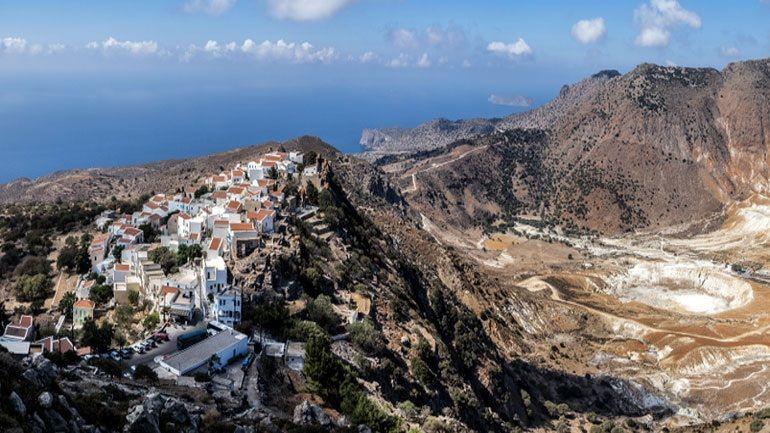 Βίντεο ημέρας: Νίσυρος, ένας από τους κρυμμένους θησαυρούς του Αιγαίου