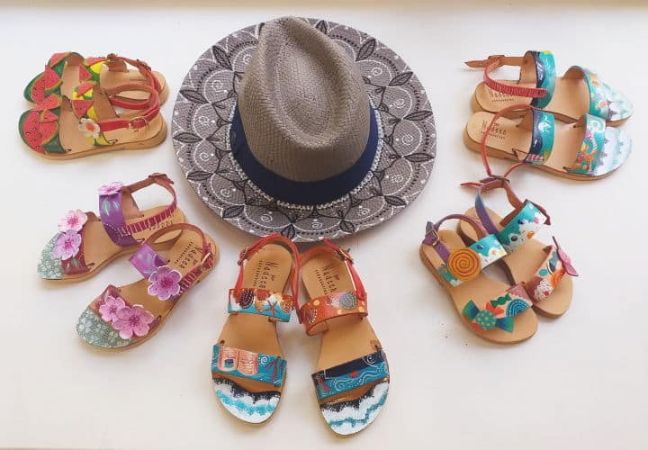 Nadeen Art Shoes Hat