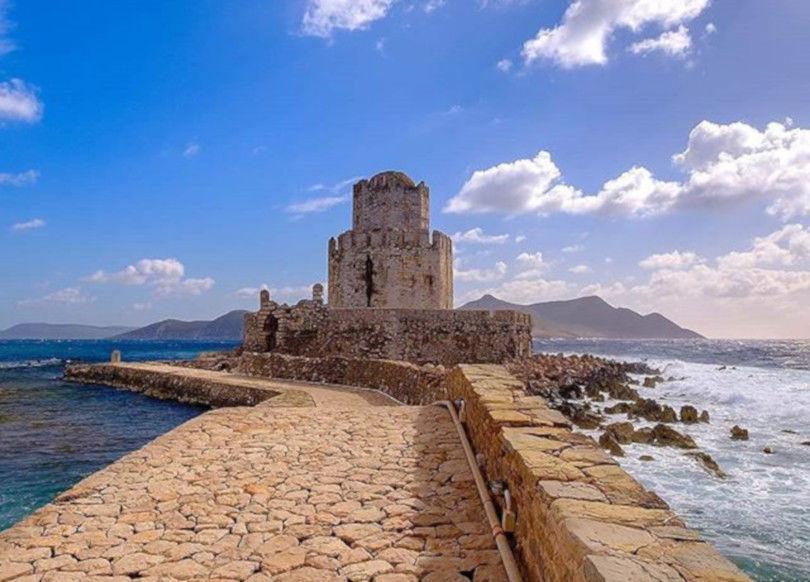 Μεθώνη Μεσσηνίας: Εξερεύνηση στο μοναδικό & ιστορικό κάστρο της – Η φωτογραφία της ημέρας