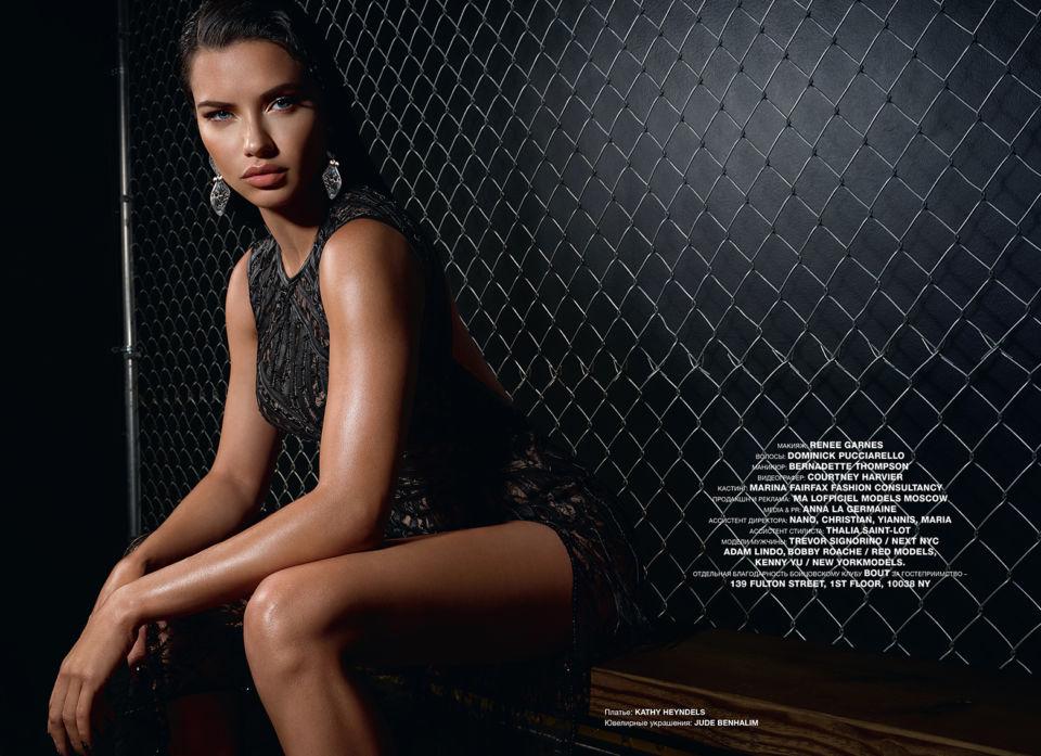 Η Andriana Lima με «made In Greece» – υπέροχο φουστάνι – Kathy Heyndels (φώτο)