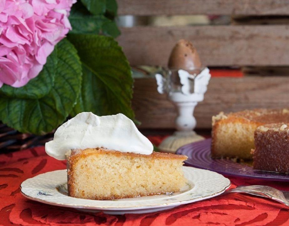 Siropiasto Cake Lemoni