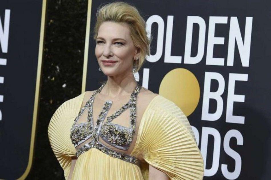 Σαν τη Θεά Άρτεμι η Κέιτ Μπλάνσετ στις Χρυσές Σφαίρες 2020 – Με «Made In Greece» ονειρική τουαλέτα της Μαίρης Κατράντζου (φώτο)