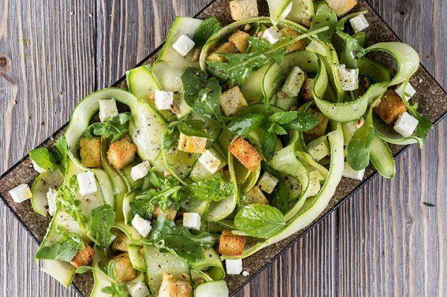 Recipe Main Kalokairini Salata Me Aggouria Kai Kolokithakia Site