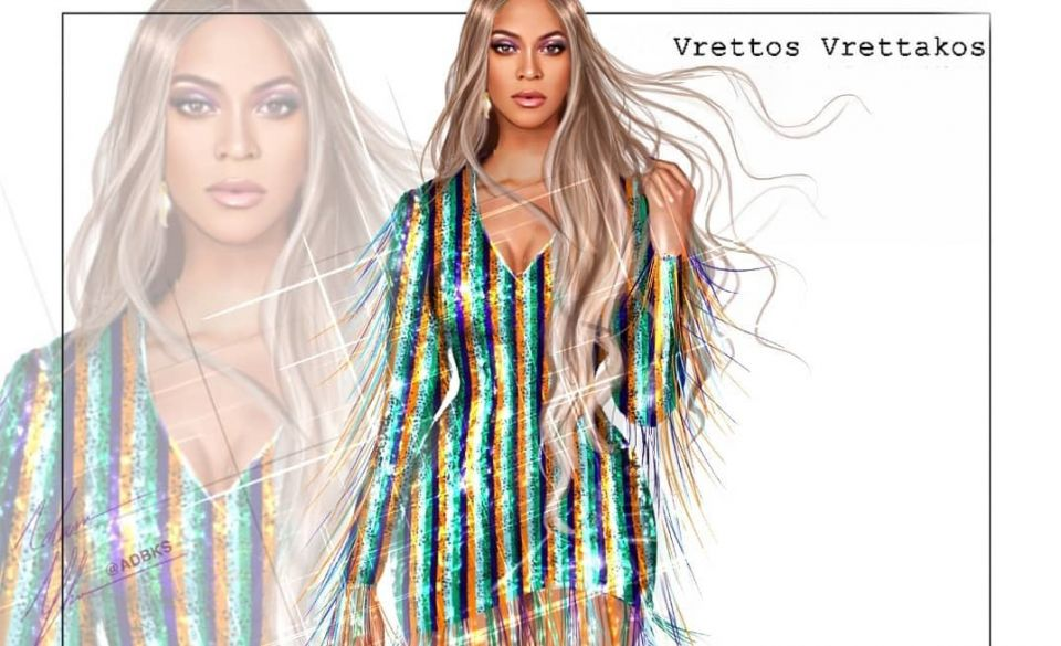 H Beyonce με φόρεμα – κορσέ του Έλληνα Vrettos Vrettakos στην παγκόσμια πρεμιέρα του νέου Visual Album της- Κεντημένο με 450.000 κρύσταλλα Swarovski (φωτό – βίντεο)