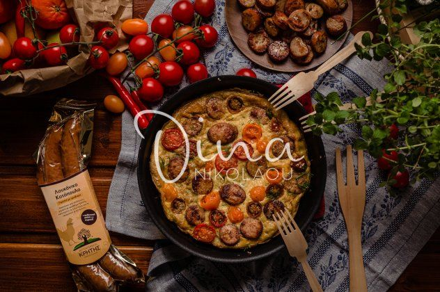 Φρουτάλια με λουκάνικο κοτόπουλου και ντοματίνια: Ένα πλούσιο και χορταστικό πιάτο από την Ντίνα Νικολάου