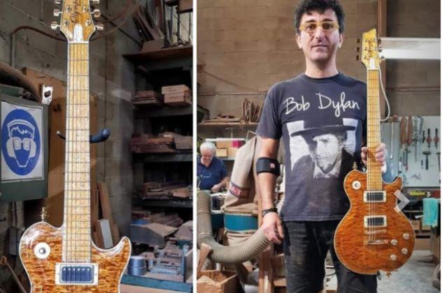Μade In Greece O Γιάννης Γιάντσιος & οι «Κιθάρες του Ολύμπου» – Bon Jovi, Iron Maiden, Led Zeppelin πελάτες του (φωτό – βίντεο)