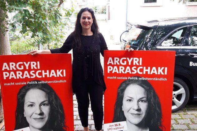 Αργυρή Παρασχάκη: Ελληνίδα μετανάστρια στη Γερμανία κατεβαίνει υποψήφια Βουλευτής (φωτό)