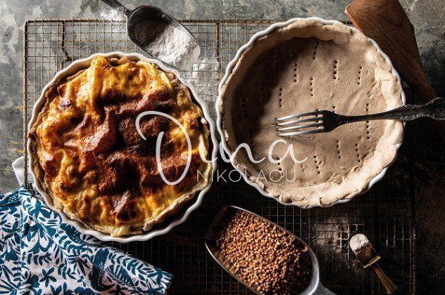 Ντίνα Νικολάου: Τάρτες με κοτόπουλο και μανιτάρια, χωρίς γλουτένη